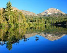"""Reflecting on Mt. Lassen"""