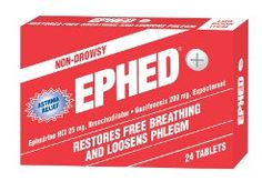 EPHED® tablets are the hottest-selling asthma treatment product on the market today, helping millions of people breathe easier.