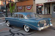 1956 Chevrolet Bel Air Four Door Sedan.