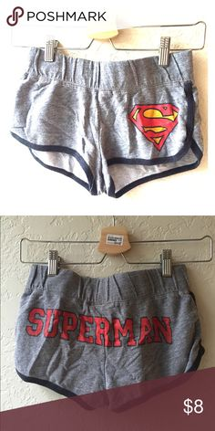 Forever 21 Superman Comic PJ Pajama Shorts XS lounge pajama shorts Forever 21 Intimates & Sleepwear Pajamas