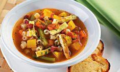 Deu vontade de uma refeição quentinha? Veja 10 receitas de sopas, caldos e caldinhos para espantar o frio! #yummy #receita #sopa #caldo #inverno