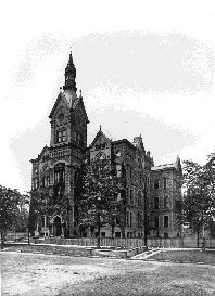 Cleveland History:CENTRAL HIGH SCHOOL was the first public high school in Cleveland. Established on 13 July 1846, it was the first such school west of the Alleghenies to provide free secondary education at public expense.Early Central students included such eminent figures as JOHN L. SEVERANCE, JOHN D. ROCKEFELLER, MARCUS A. HANNA, SAMUEL MATHER, and LANGSTON HUGHES.
