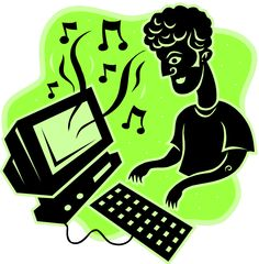 Friendly management tools for when students are keyboarding: Music and Online Timers