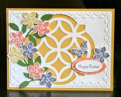 Stampin' Up! Easter by Krystal's Cards and More: Petite Petals Easter