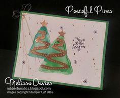 Stampin' Up! Peaceful Pines by Melissa Davies @rubberfunatics #stampinup #rubberfunatics