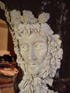Cool paper clay sculpting