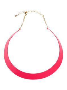 naszyjnik  zielony- biżuteria   - TNA0394- TROLL - Odzieżowy sklep internetowy TOP SECRET