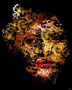 Eric Lapierre - Color Face 10 | Oeuvre d'Art en Vente Artsper