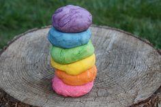 Sliwki robaczywki: Aromatyczna i kolorowa domowa plastelina - również CZEKOLADOWA