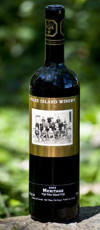 Pelee Island Meritage ... one of the best reds I've had.