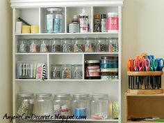 craft room organizing amp some cute storage bins, craft rooms, organizing, Great size storage for gift bags