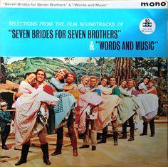 Seven Brides For Seven Brothers Soundtrack Vinyl LP MGM Records – MGM C 853