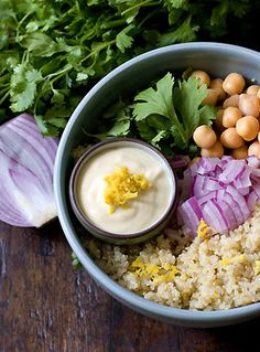 Lemon-scented Quinoa Salad