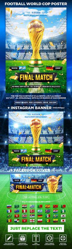 Football World Cop Poster vol.3