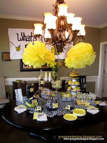 GreyGrey Designs: {My Parties} What's It Gonna Bee? Gender Reveal Party
