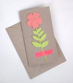 Plante Una Tarjeta del Día de Flores | Oh Happy Day!