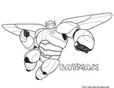 Printable big hero 6 baymax coloring pages for kids. print out big hero 6 baymax coloring pages disney characters for activities for kids