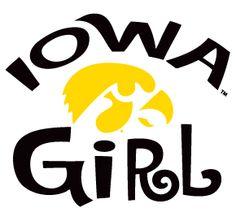 iowa hawkeye stickers | Details about Iowa Hawkeyes IOWA GIRL Clear Vinyl Decal Car Truck ...