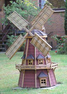 18 new ideas yard art windmill house Yard Windmill, Wooden Windmill, Play Houses, Bird Houses, Dutch Gardens, Outdoor Projects, Outdoor Decor, Le Moulin, Yard Art