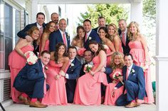 The gang's all here; A Wedding at The Madison Hotel & Conservatory; Photo by @tismanphoto