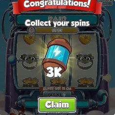 Coin master free spins coin links for coin master we are share daily free spins coin links. coin master free spins rewards working without verification Daily Rewards, Free Rewards, Lotto Winning Numbers, Coin Master Hack, The Millions, Coin Collecting, Free Games, Jukebox, Cheating