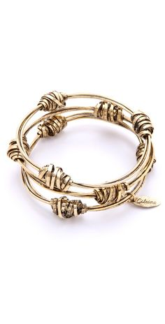 Citrine by the Stones Wire Nugget Bangles   SHOPBOP