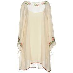 e2d14f7b57 Twin-set Simona Barbieri Short Dress (615 BRL) ❤ liked on Polyvore featuring