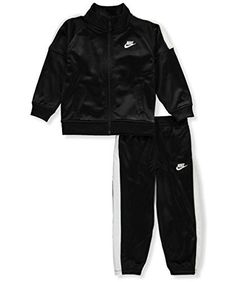 cce141d6c5403 Nike Infant/Toddler/Baby Track Suit Jacket and Pants TwoPiece Set Assorted  Colors 12