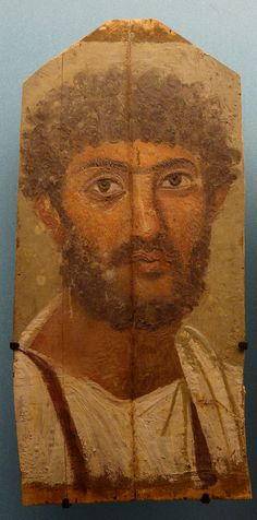 (c. 150 CE) Portrait of a Bearded Man