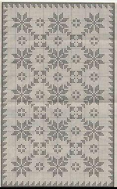 New Ideas Crochet Doilies Filet Cross Stitch Cross Stitch Borders, Cross Stitch Designs, Cross Stitching, Cross Stitch Embroidery, Cross Stitch Patterns, Hand Embroidery, Crochet Flower Patterns, Crochet Motif, Crochet Doilies