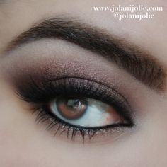 Fall Smolder - There's one palette behind this smouldering eye look. Which one is it? Find out here: http://www.preen.me/look/72989041-fall-smolder-by-jolani-j