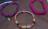 Three Wooden Bead Necklaces