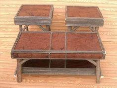 Experience the Leather coffee table with end table. Beautifully handcrafted to fit your home, this set is the missing piece to your rustic retreat. Willow Furniture, Furniture Decor, Leather Coffee Table, Coffee And End Tables, Missing Piece, Rustic, Storage, Fit, Home Decor