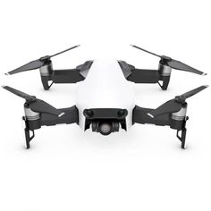 DJI Mavic Air Drone Combo WiFi Quadcopter with Remote Controller Deluxe Bundle with Hard Case Dual Battery Landing Pad and 1 Year Warranty Extension Arctic White * For more information, visit image link. (This is an affiliate link) Educational Robots, Air Drone, Foldable Drone, Smartphone, Drone Quadcopter, Mavic, Arctic, Shopping