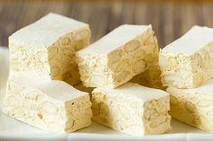 A recipe for homemade torrone - an Italian candy made of nougat and almonds. Italian Candy, Italian Foods, Torrone Recipe, Nougat Recipe, Almond Cream, Comida Latina, Italian Cookies, Wafer Paper, Homemade Candies