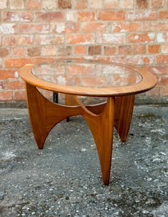 Retro Teak G-plan Oval Astro Coffee Table