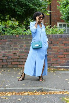 The Shirt Dress Shirt Dress, Asos Sandals, Topshop Bag, Mulberry Headband, River IslandFashion By Forcailini Topshop Bags, Latest Fashion, Duster Coat, Personal Style, Asos, The Incredibles, Shirt Dress, Fashion Outfits, Celebrities