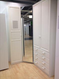 IKEA corner wardrobe - minute the drawers