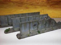 Tall Barriers : 28mm Wargame Terrain & Scenery