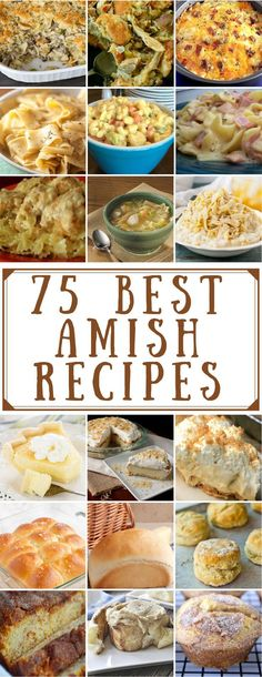 75 Best Amish Recipes is part of Best amish recipes - From breakfast and dinner to side dishes and desserts, there are nearly a hundred delicious amish recipes to choose from Best Amish Recipes, New Recipes, Favorite Recipes, Pork Recipes, Chicken Recipes, Meatloaf Recipes, Amish Chicken Salad Recipe, Amish Stuffing Recipe, Gastronomia