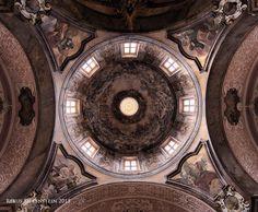 #DE #Neuzelle #Kloster  #EvangelischePfarrkirche #ZumHeiligenKreuz #Kuppel  #Innenansicht