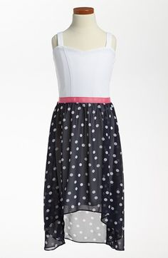 Sally Miller High/Low Dress (Big Girls) available at #Nordstrom