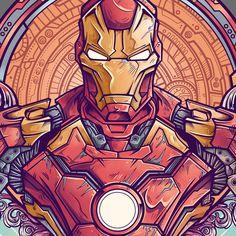 Iron Man Vs Ultron Fanart project on Behance Ms Marvel, Marvel Dc Comics, Marvel Heroes, Marvel Avengers, Marvel Fan Art, Ultron Wallpaper, Marvel Wallpaper, Iron Men, Iron Man Fan Art