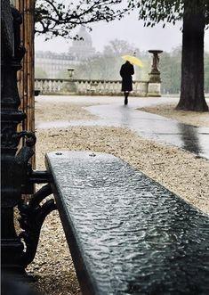 Paris in the rain by Christophe Jacrot. Oh Paris. Walking In The Rain, Singing In The Rain, Rainy Night, Rainy Days, Christophe Jacrot, Paris By Night, I Love Rain, Rain Go Away, Under The Rain