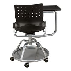 Mobile Tablet Arm Chair - Back View