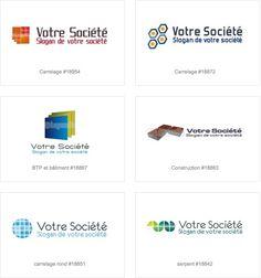 Création logo construction - logo carrelage - logo pose sol Logo Construction, Slogan, Pose, Creations, Hand Type, Logo Creation