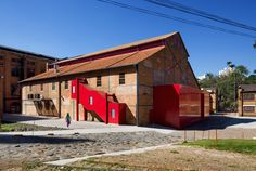 The group of buildings belonging to the Central Mills of Piracicaba represent an important landmark for the town Industrial Architecture, Urban Architecture, Contemporary Architecture, Adaptive Reuse, Brazil, Restoration, Shed, Outdoor Structures, House Styles