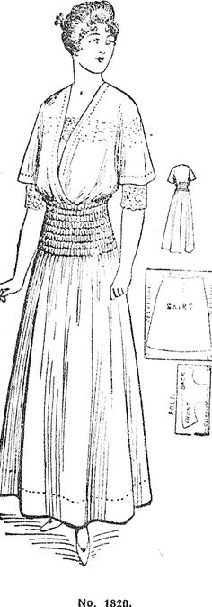 128 Best Historical (Edwardian: 1900-1920) Sewing patterns