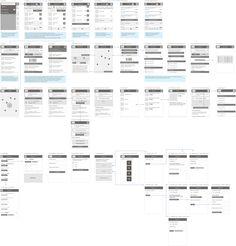 Mobile HTML5 app Mobile Ui Design, Ui Ux Design, Ui Prototyping, App Wireframe, Information Architecture, User Experience Design, Ui Design Inspiration, Ui Web, Screen Design