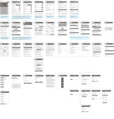 Cool wireframes